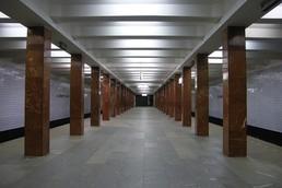 Станция Каширская, западный зал