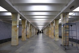 Станция Варшавская, общий вид