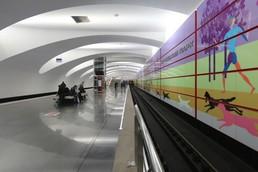 Станция Битцевский парк, платформа