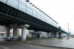 Станция Улица Скобелевская, вид с улицы