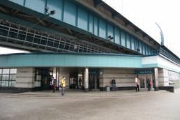 Станция Улица Горчакова, вид с улицы