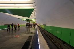 Станция Лермонтовский проспект, платформа