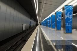 Станция Ломоносовский проспект, платформа