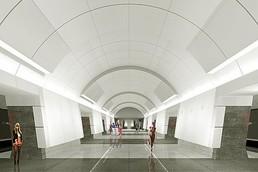 Станция Российская, проект