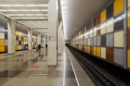 Станция Саларьево, платформа