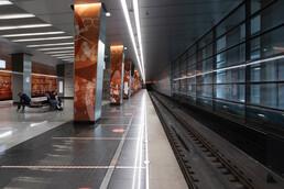 Станция Мичуринский проспект, платформа