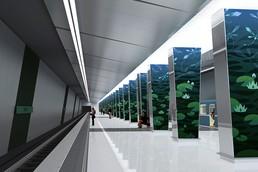 Станция Озёрная, проект