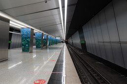 Станция Озёрная, платформа