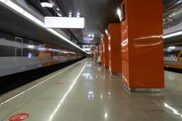 Станция Боровское шоссе, общий вид