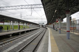 Станция Андроновка, платформа