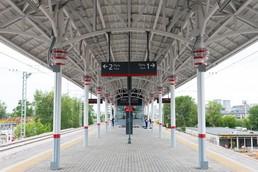 Станция Новохохловская, общий вид