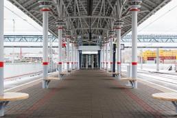 Станция ЗИЛ, общий вид