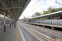 Станция Верхние Котлы, платформа