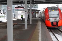 Станция Крымская, платформа