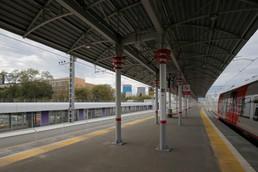 Станция Хорошёво, платформа