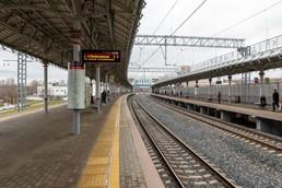 Станция Стрешнево, общий вид
