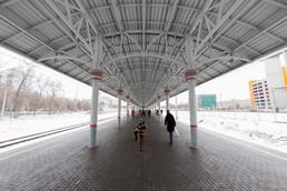 Станция Балтийская, общий вид