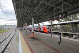 Станция Лихоборы, платформа