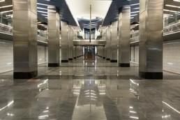 Станция Деловой центр, общий вид