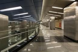 Станция Деловой центр, балкон