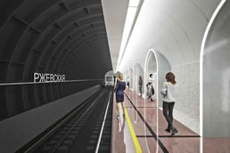 Станция Рижская, проект
