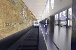 Станция Электрозаводская, проект