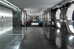 Станция Электрозаводская, балкон