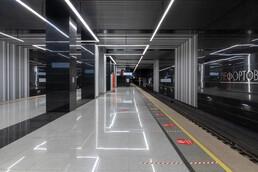 Станция Лефортово, общий вид