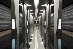 Станция Авиамоторная, общий вид