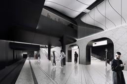 Станция Кленовый бульвар, проект