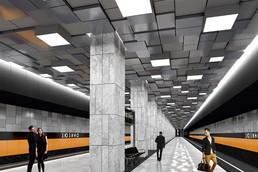 Станция Зюзино, проект