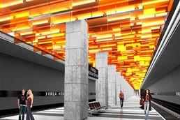Станция Новаторская, проект