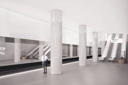 Станция Терехово, проект