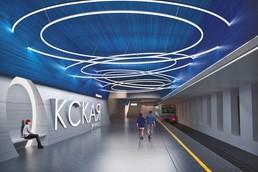 Станция Окская улица, проект