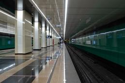 Станция Улица Дмитриевского, платформа