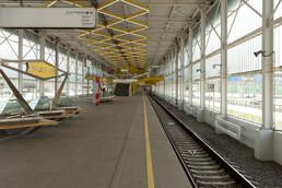 Станция Филатов луг, платформа
