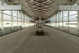 Станция Прокшино, общий вид