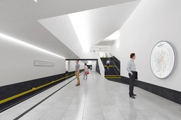 Станция Нагатинский затон, проект