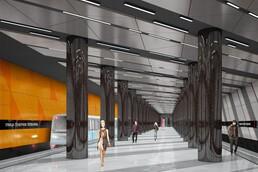 Станция Улица Генерала Тюленева, проект