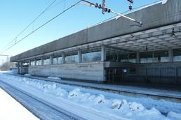 Станция Девяткино, вид с улицы