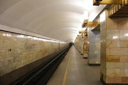 Станция Гражданский проспект, боковой неф