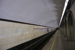 Станция Академическая, боковой неф