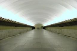 Станция Политехническая, общий вид