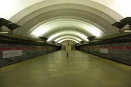 Станция Площадь Мужества, общий вид