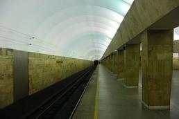 Станция Выборгская, боковой неф