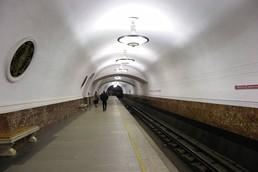 Станция Площадь Восстания, боковой неф