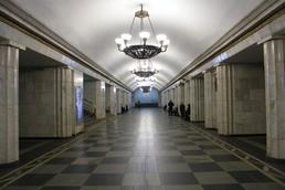 Станция Владимирская, центральный неф