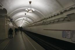 Станция Пушкинская, боковой неф