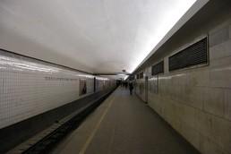 Станция Технологический институт 1, восточный зал, боковой неф