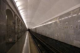Станция Балтийская, боковой неф